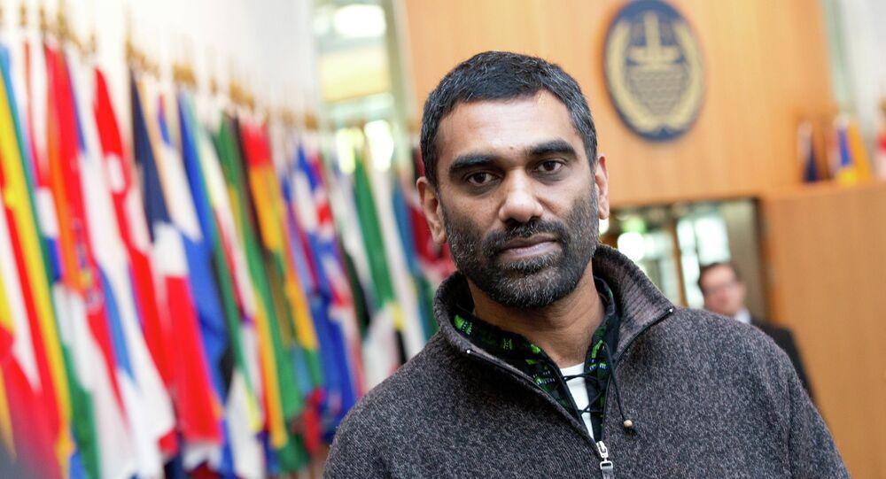 Manager of Greenpeace-International Kumi Naidoo
