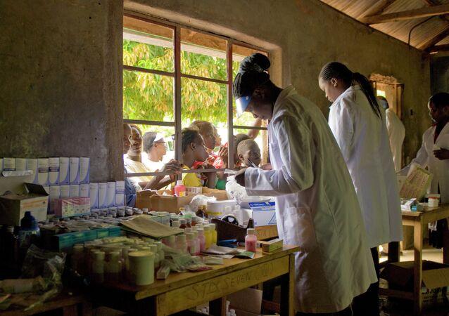 U.S. Army medical researchers take part in World Malaria Day 2010, Kisumu, Kenya April 25, 2010