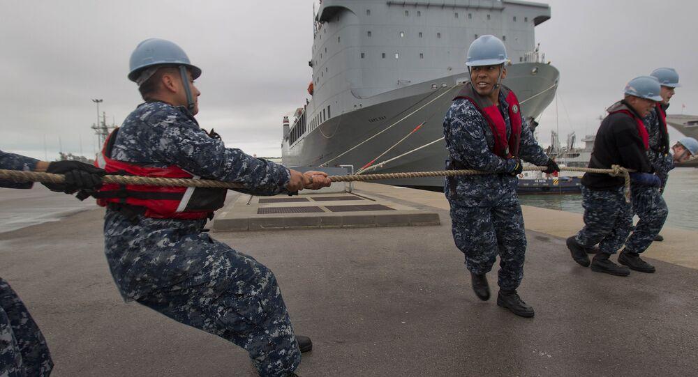 American ship MV Cape Ray