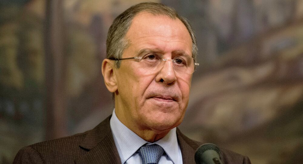 Foreign Minister Sergei Lavrov meets with Saudi counterpart