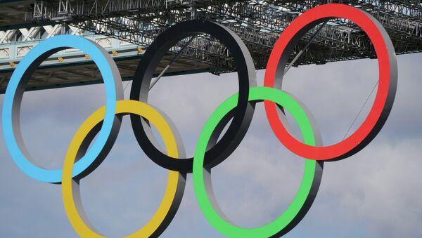 Olympic Rings - Sputnik International