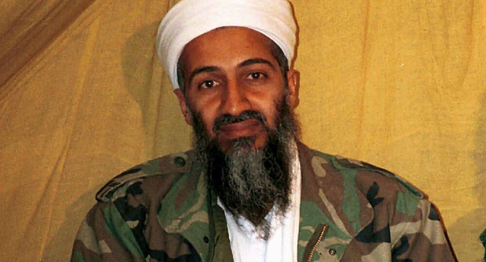 Al-Qaeda leader Osama bin Laden in Afghanistan. (File)