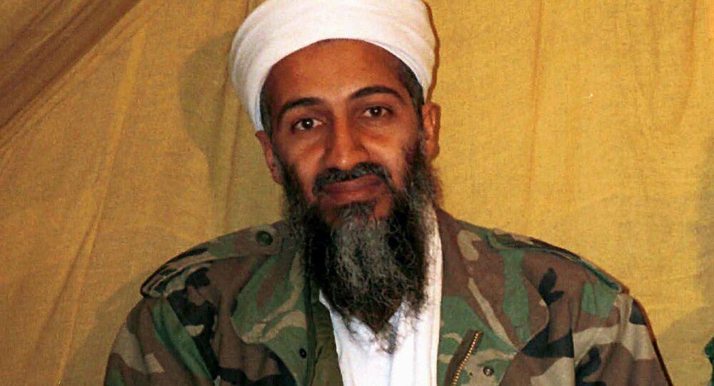 Al Qaida leader Osama bin Laden in Afghanistan. (File)