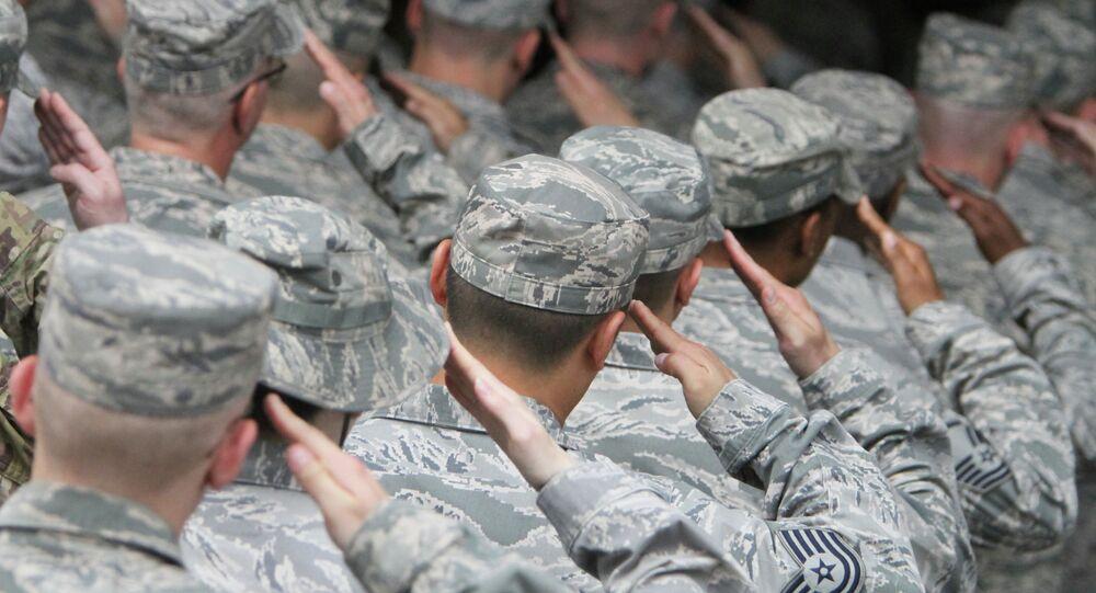 US Air Force servicemen