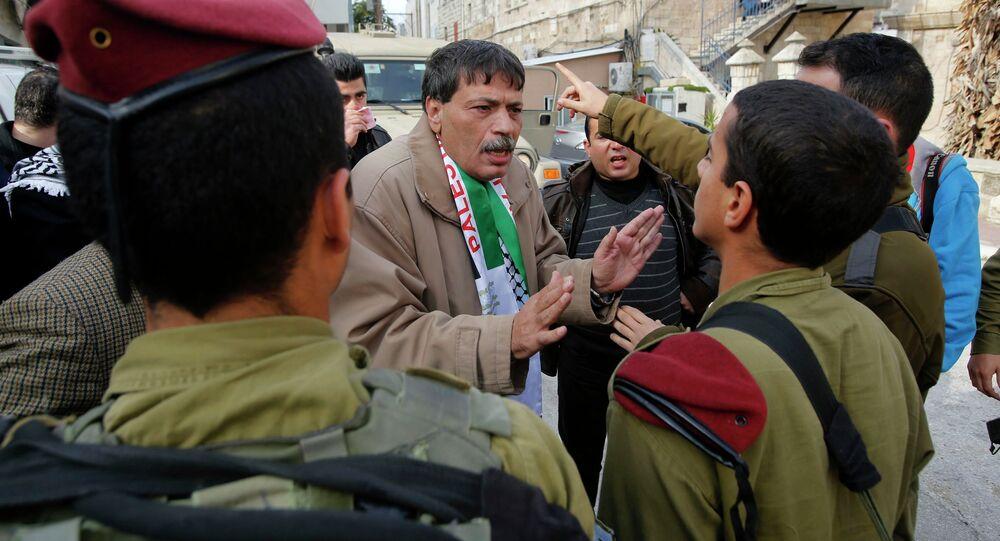 Palestinian Ziad Abu Ein