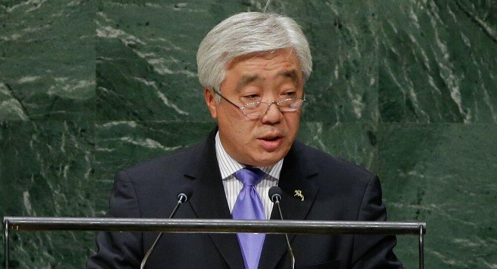 Erlan A. Idrissov, Kazakhstan's Foreign Minister