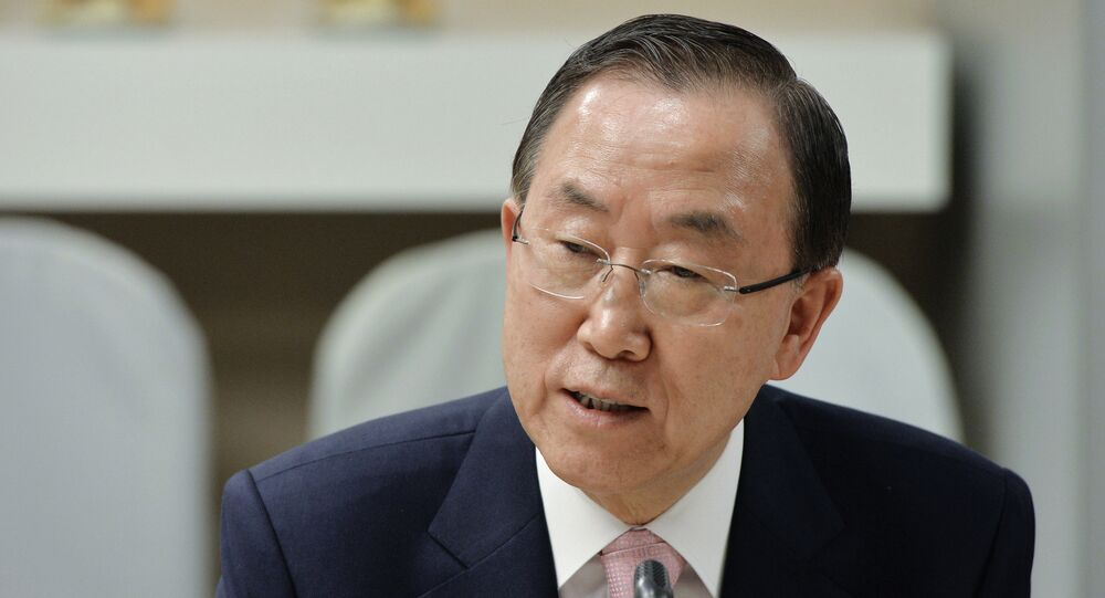 UN Secretary-General Ban Ki-moon has thanked Russian and Sudanese governments for their help in securing the release of two UN contractors