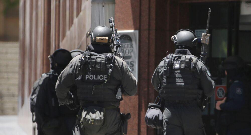 Australian armed police
