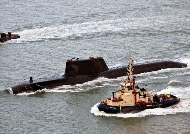 HMS Astute, the first nuclear-powered Astute Class submarine