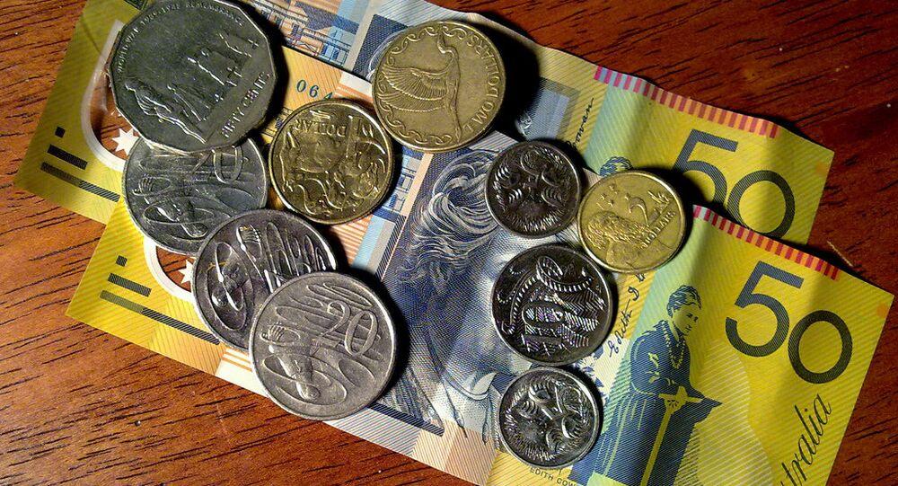 Leftover Australian dollars