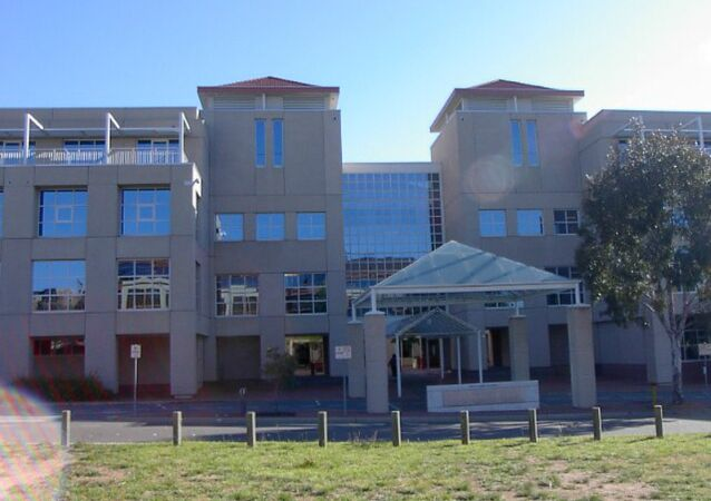 The R. G. Casey building, head office of the Department of Foreign Affairs and Trade located in Barton in the Australian Capital Territory
