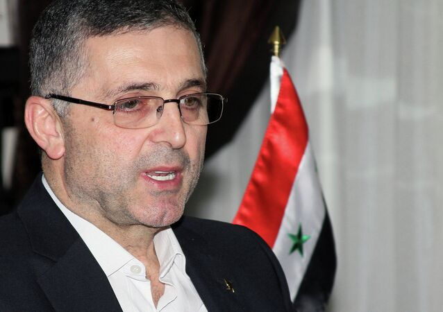 Ali Haidar, the Syrian Minister for Reconciliation Affairs