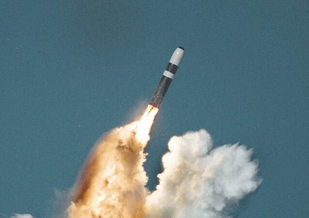 Trident II missile underwater launch