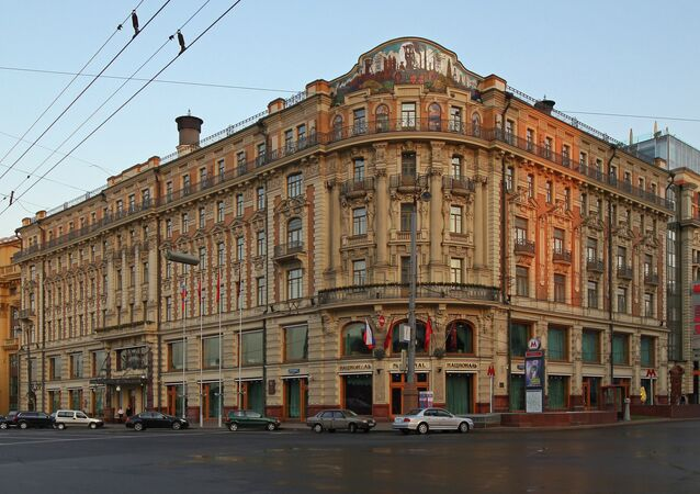 The Hotel National in Moscow