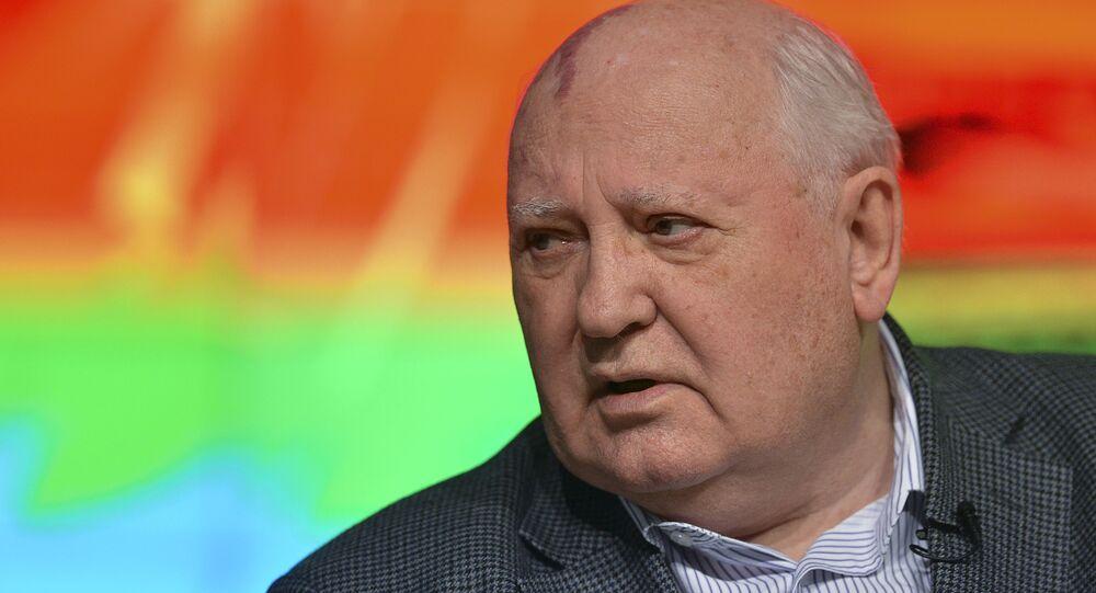 Public lecture by Mikhail Gorbachev