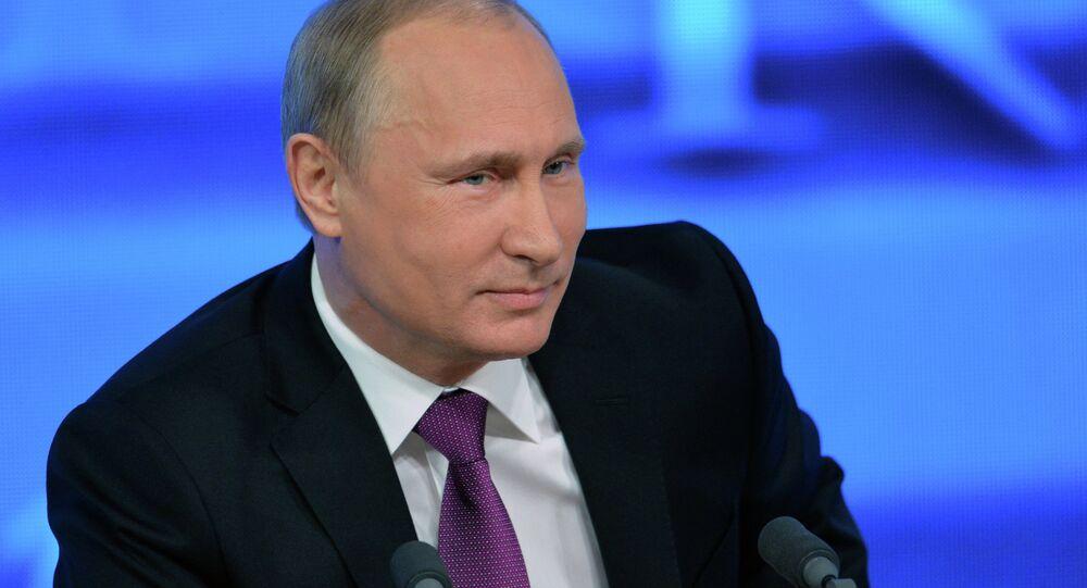 10th annual press conference of Vladimir Putin