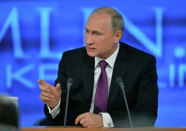 The difficulties in Russia's economy are not only because of outside factors, including sanctions, but also because the government has not worked out some defects, Russian President Vladimir Putin said Thursday.
