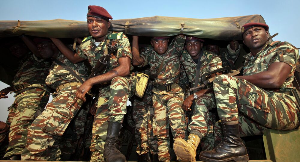 Soldiers from Cameroon