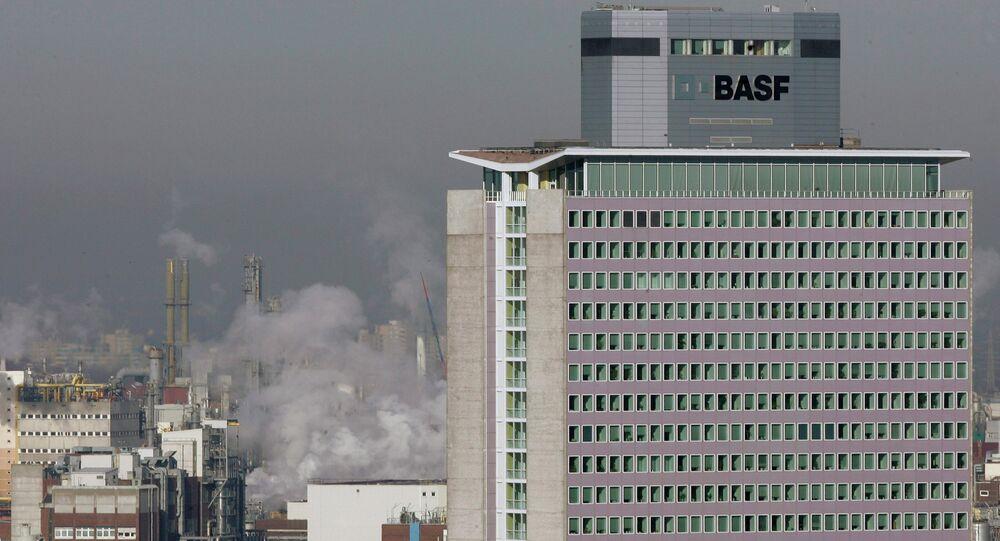 Headquarters of German chemical company BASF