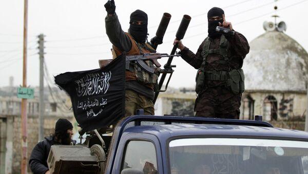 Members of al Qaeda's Nusra Front in the southern countryside of Idlib, December 2, 2014 - Sputnik International