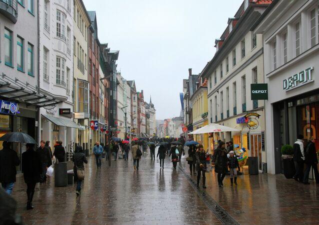 Flensburg Germany streets