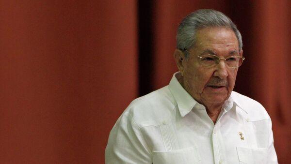 Cuba's President Raul Castro addresses the audience during the National Assembly in Havana December 20, 2014. - Sputnik International