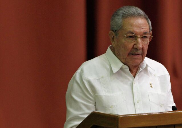 Cuba's President Raul Castro addresses the audience during the National Assembly in Havana December 20, 2014.