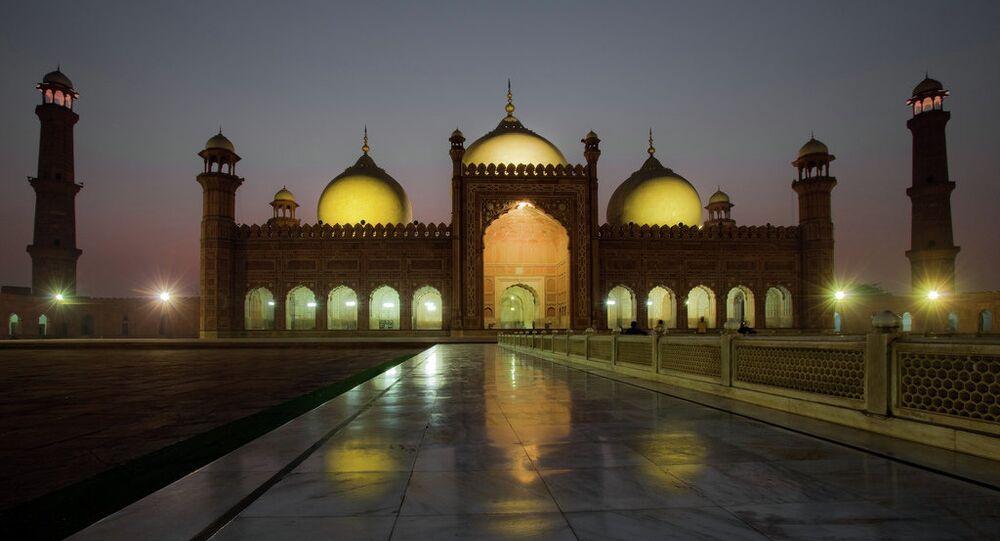 The Badshahi Mosque in Lahore