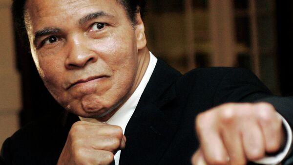 U.S. boxing great Muhammad Ali - Sputnik International