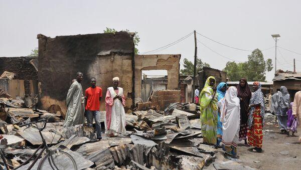 Nigeria's home-grown Islamic extremist Boko Haram group strike - Sputnik International