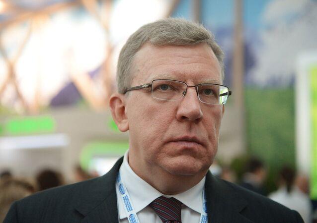 Russian former Finance Minister Alexei Kudrin