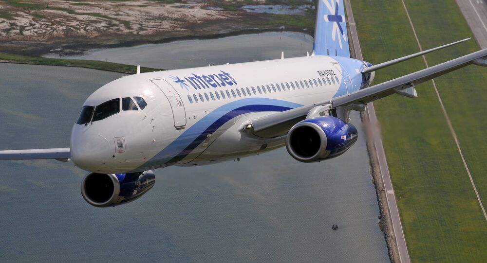 SSJ100 for Interjet