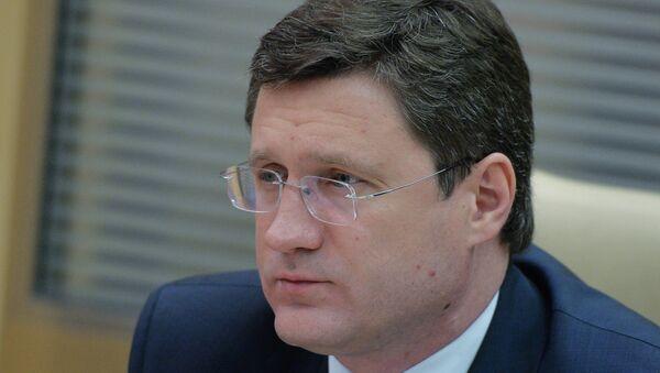 Russia's Energy Minister Alexander Novak - Sputnik International