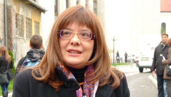 Serbian Parliament speaker Maja Gojkovic - Sputnik International