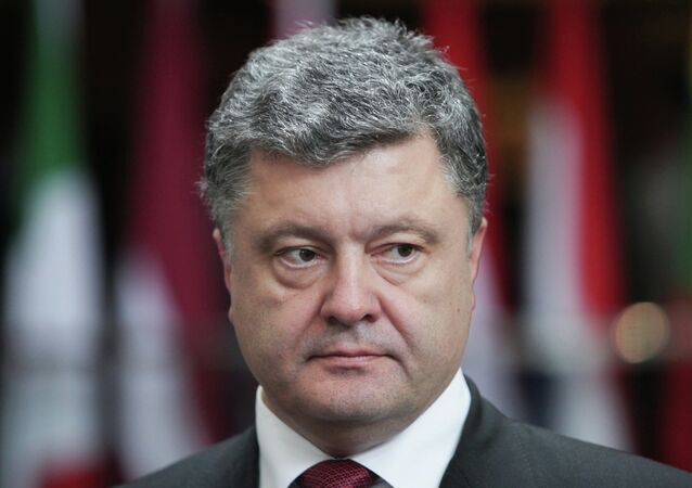 Petro Poroshenko said there is no military solution to the Ukrainian crisis