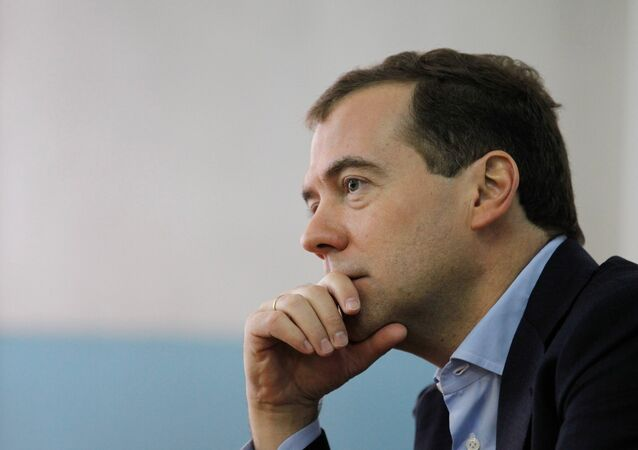 Prime Minister Dmitry Medvedev claimed that Kiev's decision to cancel Ukraine's non-aligned status makes Ukraine Russia's potential military adversary