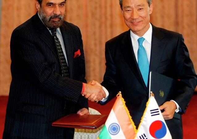 South Korea, India