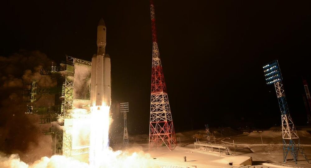 Angara A-5 test launch