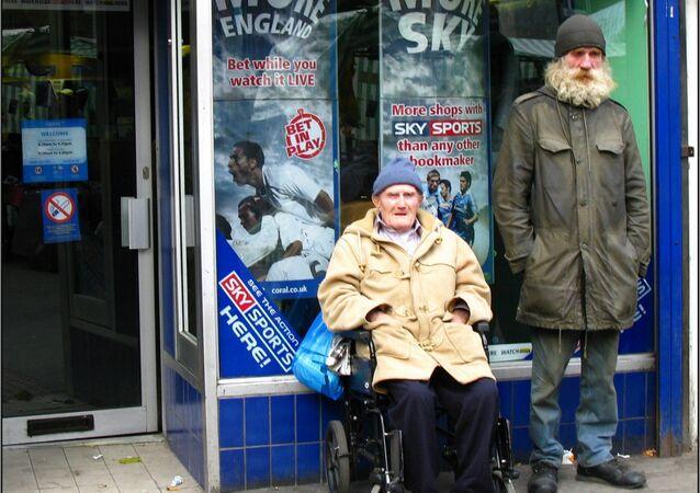 Pensioners in UK