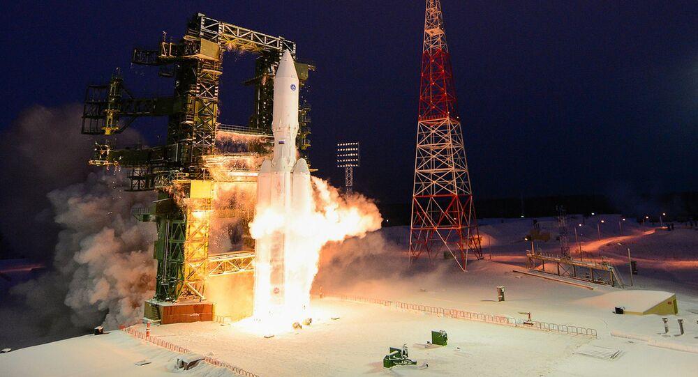 Angara-A5 test launch