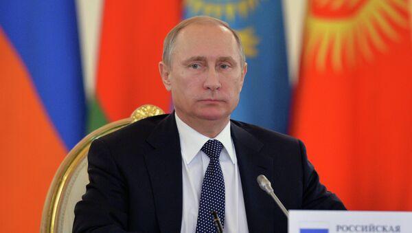 Vladimir Putin attends meetings of CSTO Collective Security Council and Supreme Eurasian Economic Council - Sputnik International