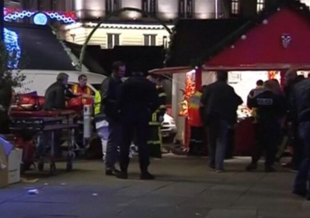 Minivan Driver Crashes Into Crowd at Christmas Market in France