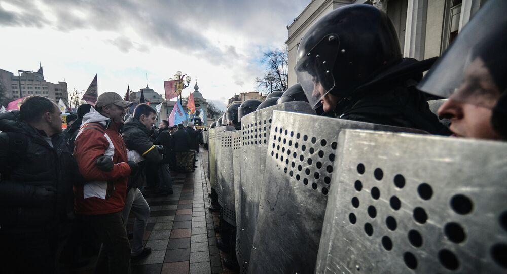 Protests in the Kiev