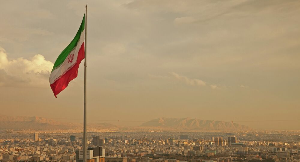 View of the Tehran, Iran