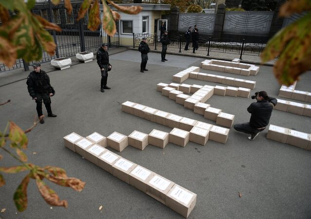 Batkivshchyna Party presents 3 million signatures in support of referendum on Ukraine's accession to NATO