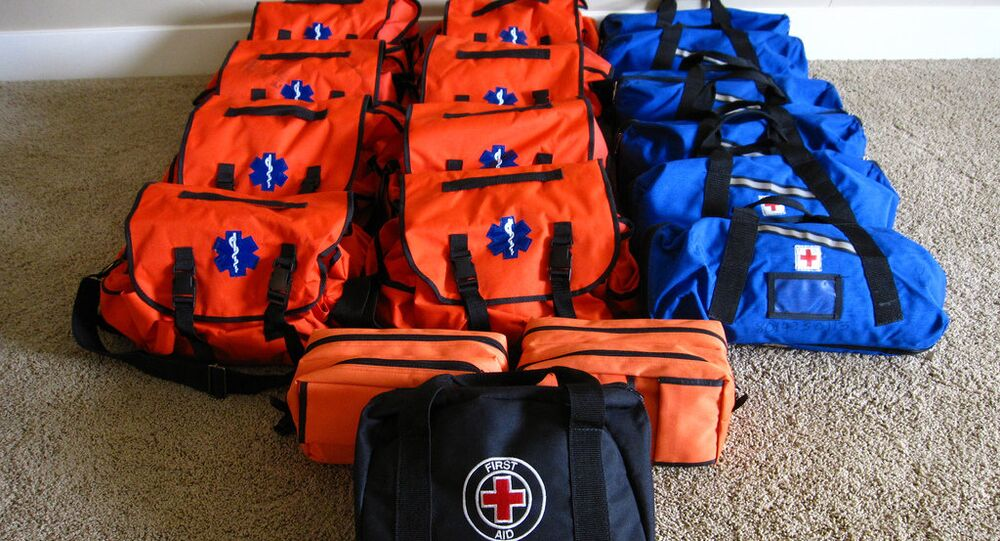 WHO has sent 90 first aid medical kits to Ukraine
