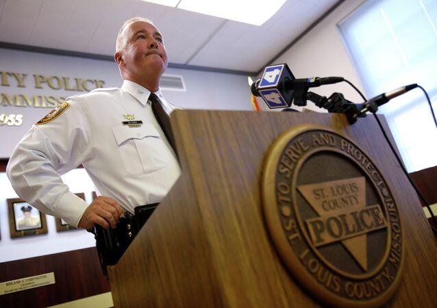 St. Louis County Police Chief Jon Belmar