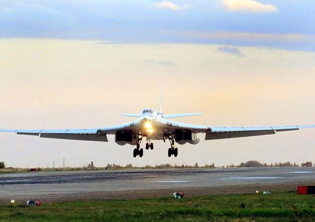 Tu-160 Blackjack strategic bomber