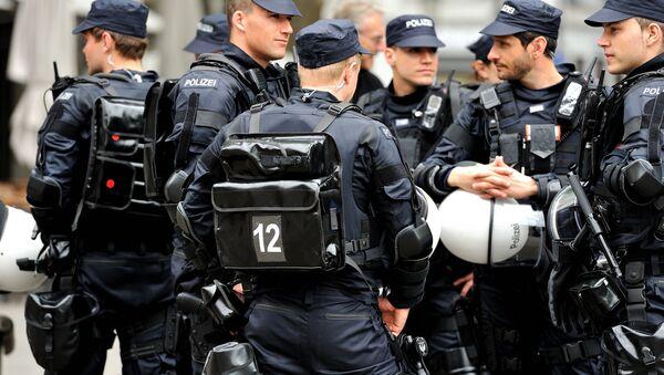 Swiss police in Zurich - Sputnik International