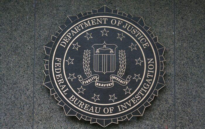 A FBI logo